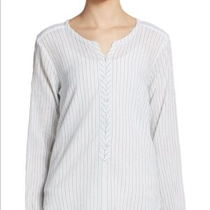 Calypso St. Barth Striped Blouse